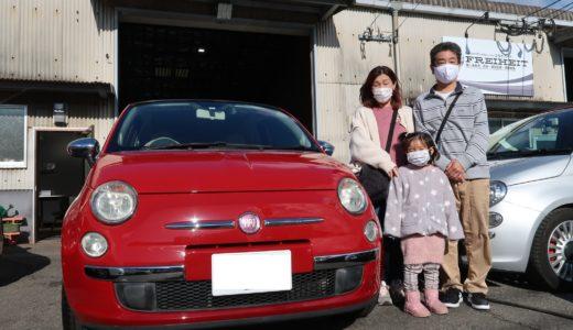福岡県のU様 / フィアット500C
